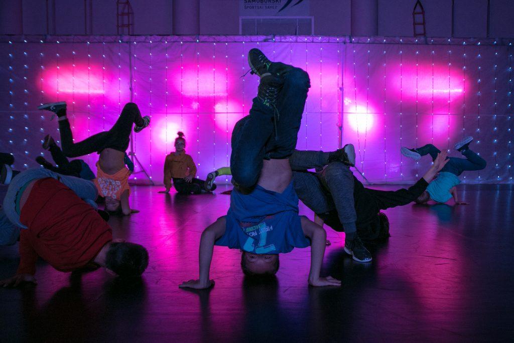 Break dance Point Samobor